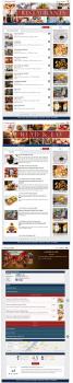 Веб-сайт E-restaurantNFC