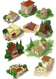 Традиционные жилища некоторых народов