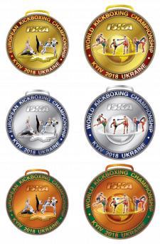 Медали Чемпионатов Мира и Европы по кикбоксингу