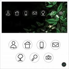 Дизайн иконок для сайта