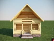 Дом из сруба БДС-1_1