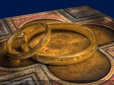 Рендер золотого кольца - старая работа 2007.