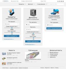 Сайт компании FinZaOneMin