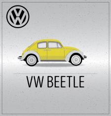Постер VW Beetle