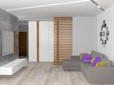 Квартира 3-х комнатная, современный минимализм