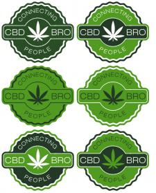 Разработка вариантов логотипа для магазина CBD-BRO