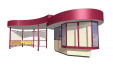 3D модели малых архитектурных форм (ArchiCAD)