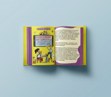 Страница детской книги по математике (по обложке)