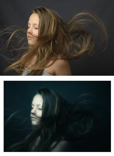 портрет, обработка 4