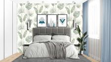 Интерьерный коллаж спальни