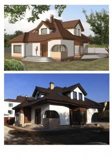 Дом в с. Рославичи