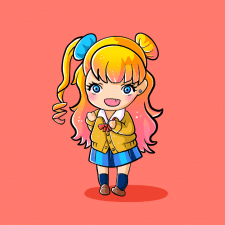 Заводная девченка