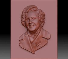 Моделирование портрета для резки на станке с ЧПУ.