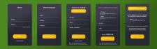 Дизайн страниц для приложения