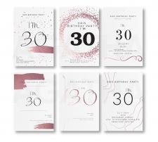 Разработка открытки - пригласительного