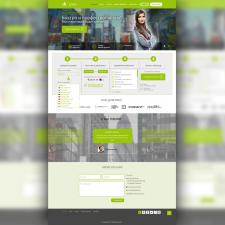 Дизайн сайта (бюро переводов)