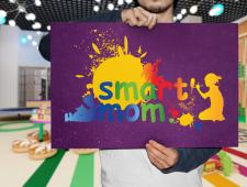 """Логотип для детского игрового зала """"Smart'mom"""""""