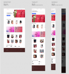 """Интернет-магазин одежды """"Pantera"""""""