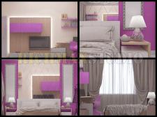 Дизайн интерьера спальни девочки подростка