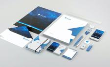 Фирменный стиль и логотип для IT компании