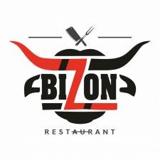 """Логотип анти-ресторана """"Bizon"""""""