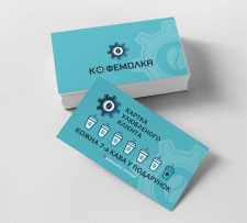 Ребрендинг кофейни, лого, визитки