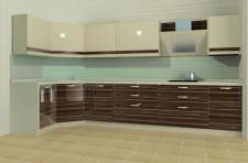 моделирование кухни в современном стиле