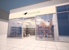 Визуализация витрины магазина