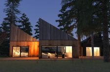 Голландский домик в лесу