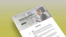 Многостраничный сайт по криптовалюте