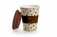 Фирменный стакан для кофе