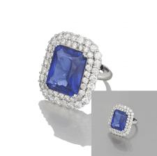 кольцо с отражением