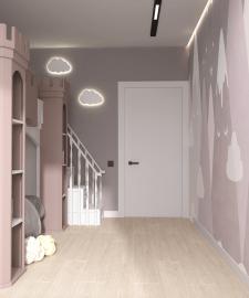 Дизайн-проект Казань 2021 детская комната