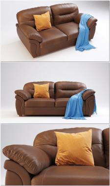 Модель кожанного дивана Бристоль