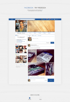 Facebook - tiny redesign