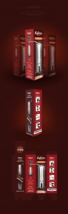 Дизайн упаковки для кофемолки
