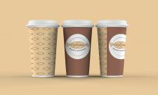 """Стаканчики для кофе (кондитерская """"Цукерня"""""""