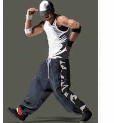Стилизованное изображение мужчины