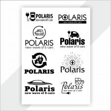 Лого для продажи электрокаров