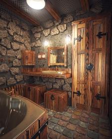 Визуализация и дизайн ванной