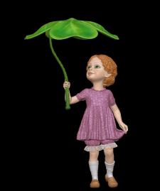Малышка-гном (модель для 3d печати)