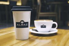 логотип для ALMAZ TEA