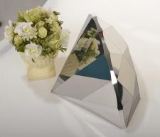 Изготовление бриллианта из зеркальной нержавейки