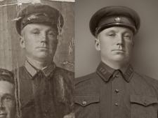 реставрация фотографии с прорисовкой