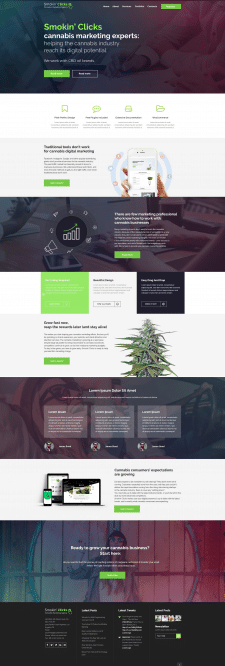 Marketing Agency Редизайн шаблона Wordpress