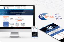 Сайт-каталог по оптоволоконным технологиям BPTehno
