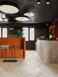 Дизайн семейного кафе-кофейни