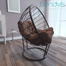3Д моделирование и визуализация кресла Лондон