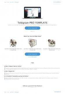 Telegram PRO TEMPLATE