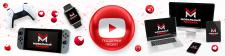 """Логотип + Шапка youtube """"Мобильный Придира"""""""